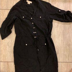 Michael Kors black utility style dress size S
